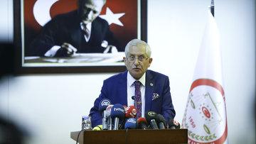 YSK Başkanı: Mühür kararını sonuçlar sisteme girmeden aldık