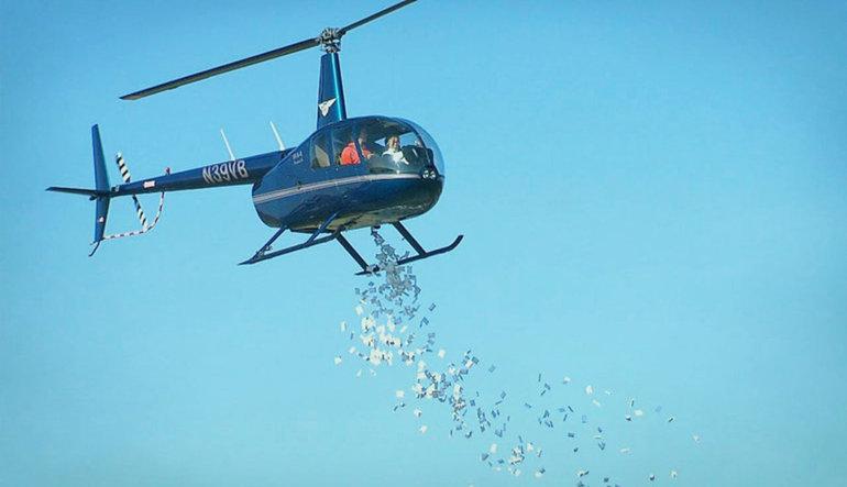 'Helikopter para' umutlarını bitiren açıklama