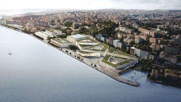 Yılan hikayesine dönen Galataport'un inşaatı mühürlendi