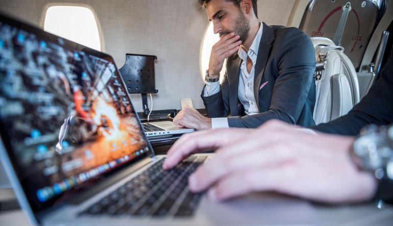 THY'den laptop yasağına laptoplı çözüm