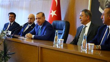 Erdoğan'dan kabine değişikliği açıklaması