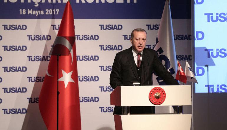 Erdoğan: AB Türkiye'ye kapısını açmış da Türkiye içeri mi girmemiş?