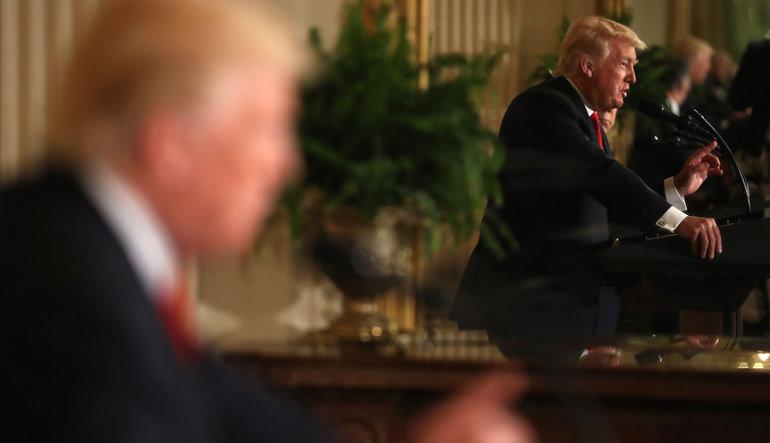 Trump: Soruşturma Amerikan tarihindeki en büyük cadı avı