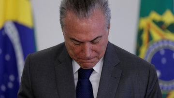 """Brezilya'da ikinci """"Devlet Başkanı'na soruşturma"""" dönemi"""