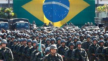 Brezilya ordusu başkente indi