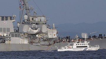 Savaş gemisi kazasında yeni açıklama