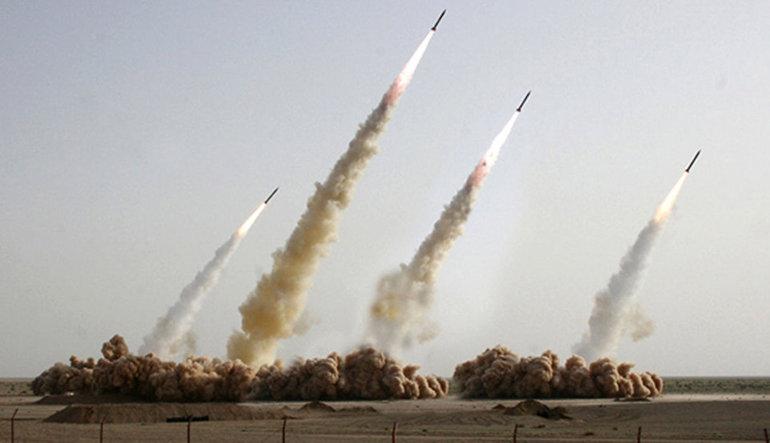 İran füzeleri Suriye'yi vurdu