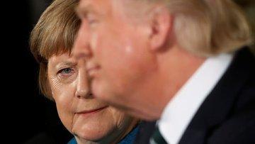 """Merkel ABD'yi """"arkadaşlıktan"""" çıkardı"""