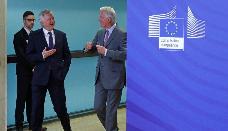 Brexit müzakereleri resmen başladı