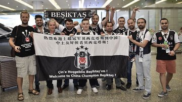 Beşiktaş Çin piyasasına giriyor