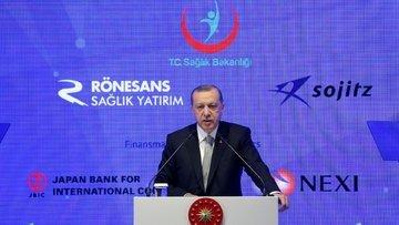 Erdoğan: Hiçbir Alman şirketi hakkında başlatılan soruşturma yoktur