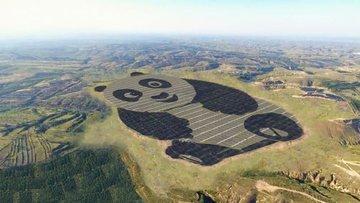 Çin'in ilk panda santrali güneşe çıkıyor