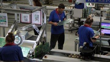 Sanayi üretimi artışı beklentilerin altında
