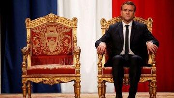 Fransa'nın yüzde 64'ü Macron'dan memnun değil