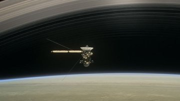 Satürn'den büyüleyici yeni görüntüler