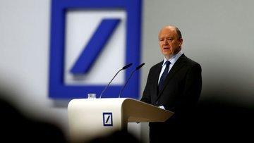 Deutsche'nin CEO'sundan balon uyarısı