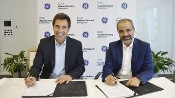GE ve HP'den 25 milyon dolarlık ortaklık