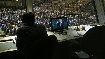 Trump'tan Kim Jong-Un'a: Roket adam intihar görevinde