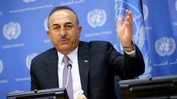 Çavuşoğlu'ndan Kuzey Irak'a müdahale açıklaması