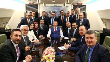 Erdoğan: Partinin şerefi herkesin şerefinin önündedir