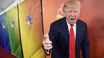 Trump'tan televizyon kanallarına tehdit