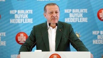 Erdoğan: Aldığımız kararın sonuna kadar arkasındayız