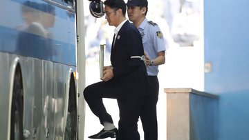 Samsung'un patronu hapisteyken servetini katladı