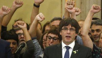 Katalonya geriliminde yeni perde