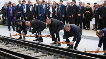 Londra'dan Pekin'e kesintisiz demiryolu
