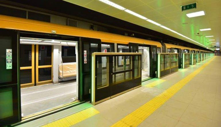Yeni metro açılıyor