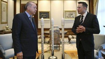 Erdoğan: Musk ile görüştüm. Baktım çok heyecanlı