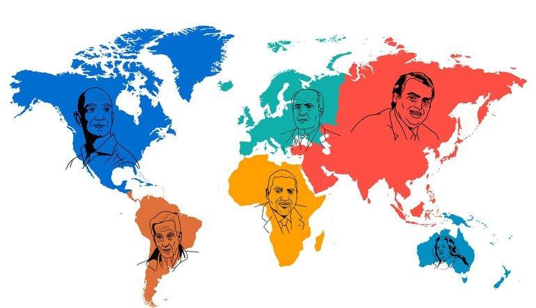 İnfografik: Dünya zenginler atlası