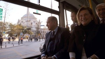 Sabancı'dan Erdoğan'a elektrikli otobüs
