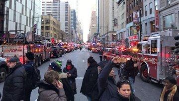 New York'ta patlama