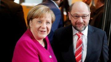 Merkel, Büyük Koalisyon'dan umutlu