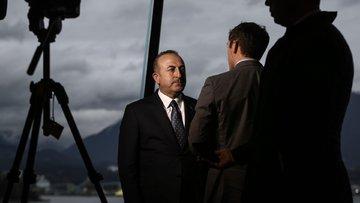 Çavuşoğlu: Hava sahası için Rusya ve İran'la temastayız