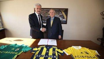 Acıbadem, Fenerbahçe'ye sponsor oldu