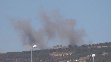 TSK taciz ateşine karşılık verdi