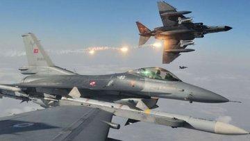 TSK: 32 uçakla 45 hedef vuruldu