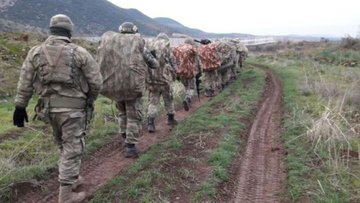 TSK Afrin içinde 7,5 kilometre ilerledi
