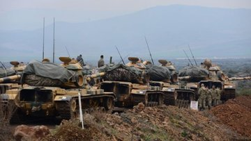 TSK Azez'de de cephe açtı