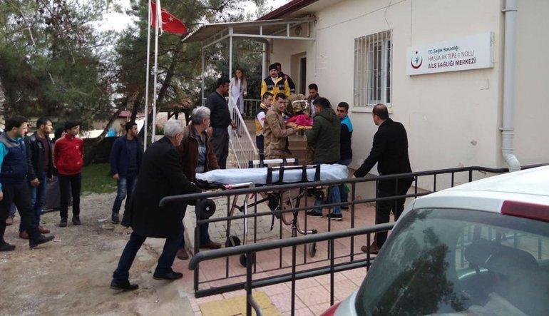 Hatay Kırıkhan'da roketli saldırı