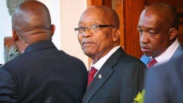 Güney Afrika'da istifa yok