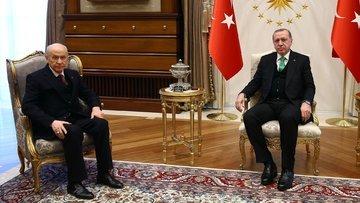 Erdoğan-Bahçeli görüşmesinde ne konuşuldu?