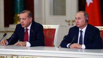Erdoğan ve Putin'den Afrin telefonu