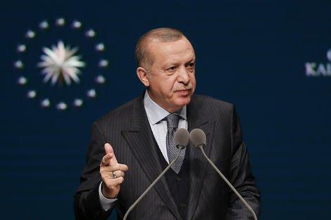 """Erdoğan'dan """"insansız tank"""" açıklaması"""