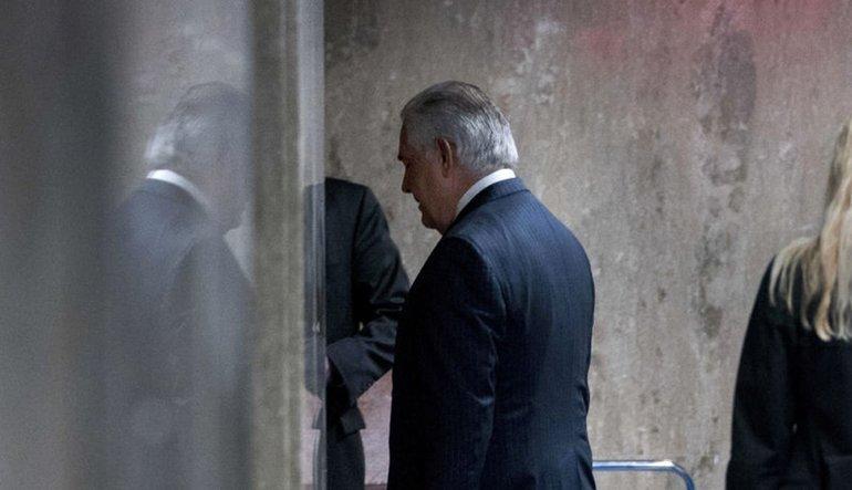 Tillerson'dan duygusal açıklama