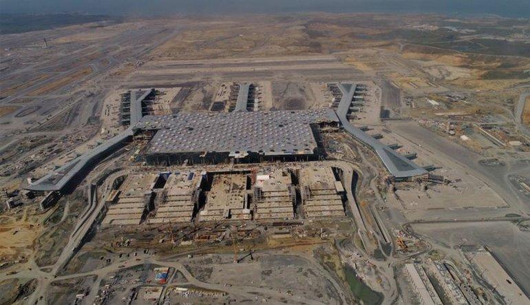 Arslan: 3. havalimanının yüzde 85'i tamam