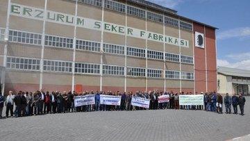 Erzurum Şeker Fabrikası'na teklif yok