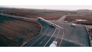 Türkiye'den ilk rüzgar kanatları yola çıktı